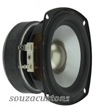 "mid bass eastech 4"" super pesado 30/50 w  6 ohms"