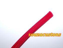 nylon braid malha nautica tech flex 14 mm vermelho