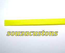 nylon braid, malha nautica tech flex 14 mm amarelo