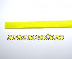 nylon braid, malha nautica tech flex 14 mm amarelo
