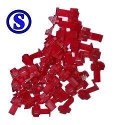 100 peças conector de derivador taplink 0,75 mm á 1,5 mm