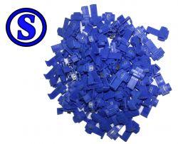 100 peças conector de derivação derivador taplink 1 mm² á 2,5 mm²