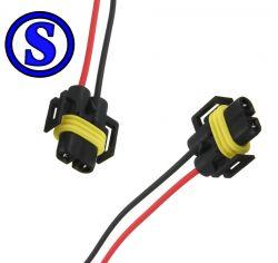 2 conector tomada para lampda H11 / H 8