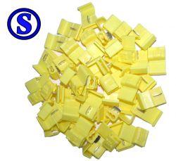 100 peças conector derivação  derivação taplink 2,5 á 6 mm