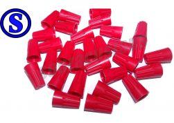 50 conector torção vermelho 4,5 á 17 mm²