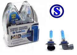 Lampada Super Branca Hb4 9006 8500k Efeito Xenon Tech One