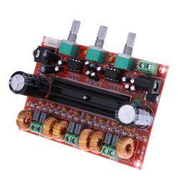 amplificador tpa 3116 modelo 2.1  2x 50 +100 w