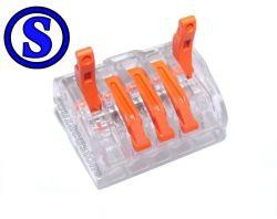 10 conector derivador 5 vias iluminação elétrica residêncial remote