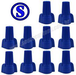 super conector torção azul 10 á 32 mm² 10 peças