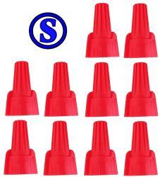 super conector torção vermelho 4,5 á 17 mm² 10 peças
