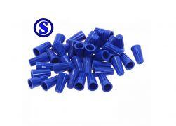100 conector torção azul   0,8 á 4 mm²