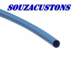 termo retrátil azul 6 mm de diâmetro
