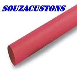 termo retratil vermelho 12 mm