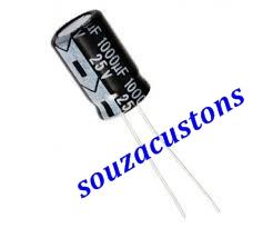 capacitor 1000 micro farad x 25 volts